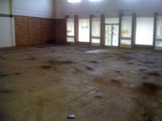 Warehouse Space – Before