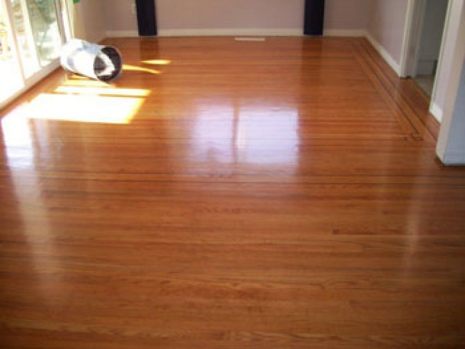 Hardwood Floor Refinishing – After