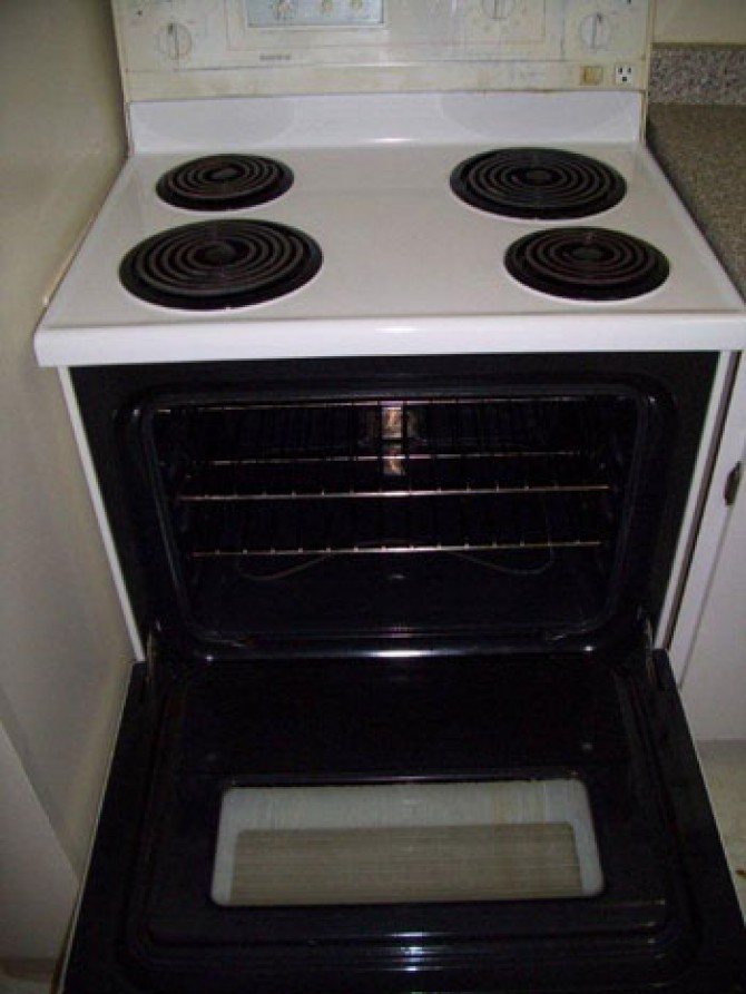 Residential – Oven Cleaning- After